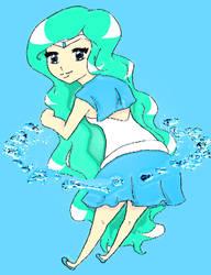 Chibi Sailor Nereide by iliowahine