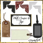Photo Corners and Tags Images by seiyastock