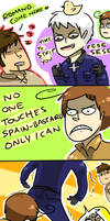 APH: NO ONE MESSES WITH ROMANO by Randomsplashes