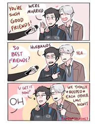 YOI: TOTALLY JUST FRIENDS by Randomsplashes