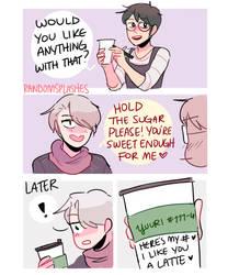 YOI: I LOVE YOU A LATTE by Randomsplashes