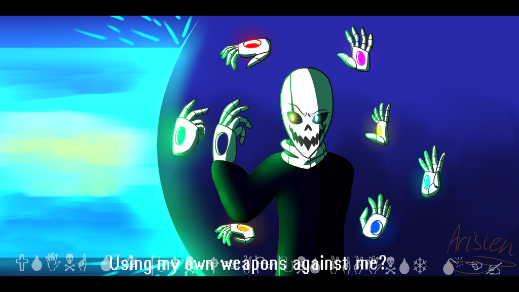 CONTEST- Using my own weapons against me? by Arisien02