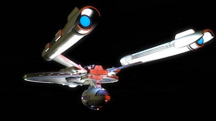 USS LIBERTY NCC-700 3 by Borne-Sanguinary
