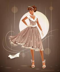 Retro Dress by krmn777