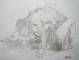 Werewolf passion by melliannen