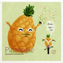 Trai Thom _ Pineapple by migoibonmat