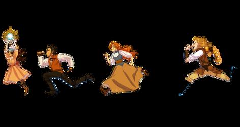 Runaround by LadyPep