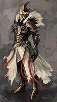 dark knight by fallen-eye