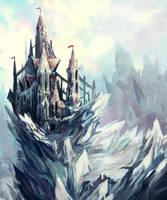 snow castle by fallen-eye