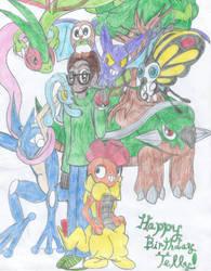 Happy Birthday Telly! by Megaaudinooo