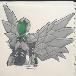 Silver Crow by Megaaudinooo