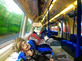 Chaotic Commute by Thundred