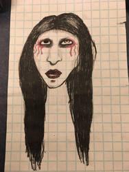 Marilyn Manson by jinxbunni2014