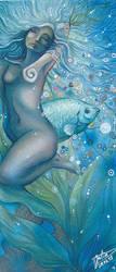 Deep blue sea by Hakuzwergin
