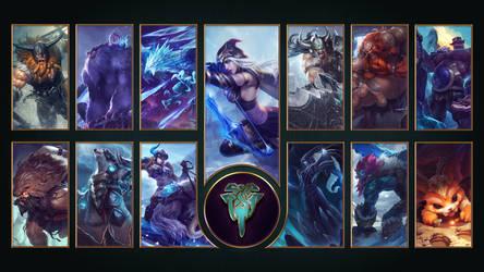 [League of Legends] Freljord Wallpaper by TheLadyClockWork