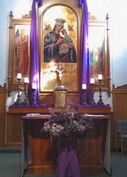 Lenten Tabernacle by mouselady