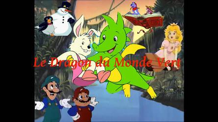 Le Dragon du Monde Vert affiche by MyFanFictionPicture