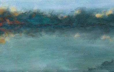 Jezioro by Saitonart