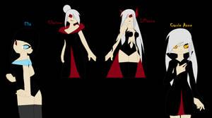 Darkwood Family(Girls) by ShadowGirl711