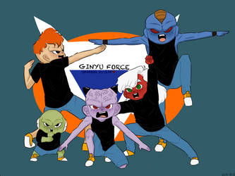 WE ARE! THE GINYU FORCE!! by OKSANAAllEN