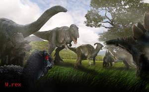 Jurassic world Ending alternative by Wolfhooligans