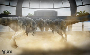 Pachycephalosaurus Show jurassic world by Wolfhooligans