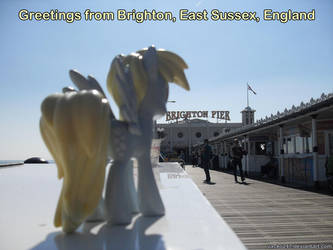 Derpy Hooves at Brighton Pier by Jacko247