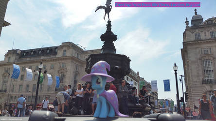 Trixie in Piccadilly Circus by Jacko247