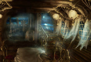 Ghost Ship by carocha