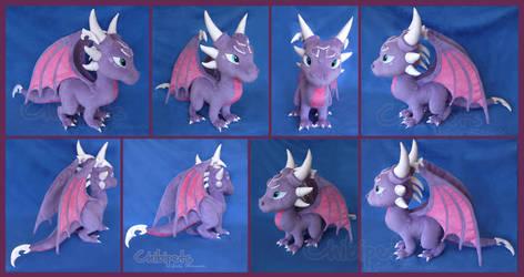 Cynder Custom Plush by Chibi-pets