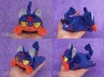 Litten Custom Chibi Doll by Chibi-pets