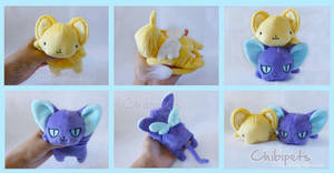 Kero and Suppi Custom Chibi Dolls by Chibi-pets