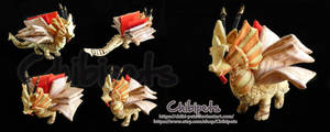Grymoire Oc Custom Plush by Chibi-pets