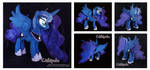 Princess Luna Custom Plush by Chibi-pets