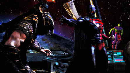 Injustice - Kneel Before the Master by CyRaX-494