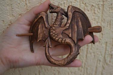 Dragon Hair Barrette by IvayloZlatev