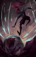 Undyne! by kolo-dragon
