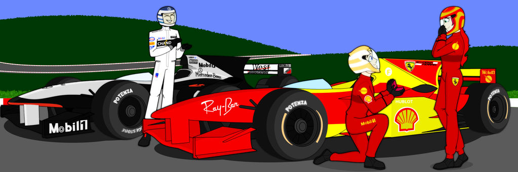 RWBY - Formula One AU - Arkos Proposal by RyanMann141