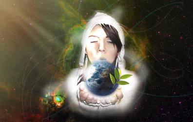 Salve o Planetinha Azul by R-Franklin