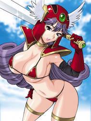 Soldier (Dragon Quest III) by yukiyanagi1111