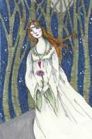 medieval lady by firejay