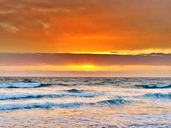 Barred Sunset by RicksCafe