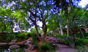 Caltech Garden by RicksCafe