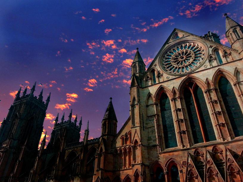 York Minster Sunset by RicksCafe