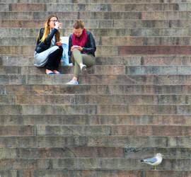 girl girl gull by RicksCafe