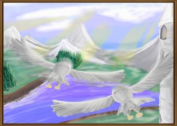 Flight of the Owl by DarAeryll