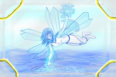 Crystal Fairy by DarAeryll