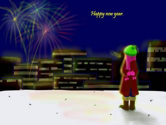 Happy new year by DarAeryll