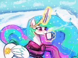 celestia winter (30minutechallenge) by luminaura