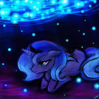 Princess Luna - Old or the New by luminaura